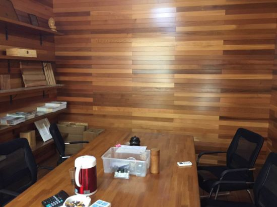 China Office Wall Wood Panel Cedar Interior Exterior