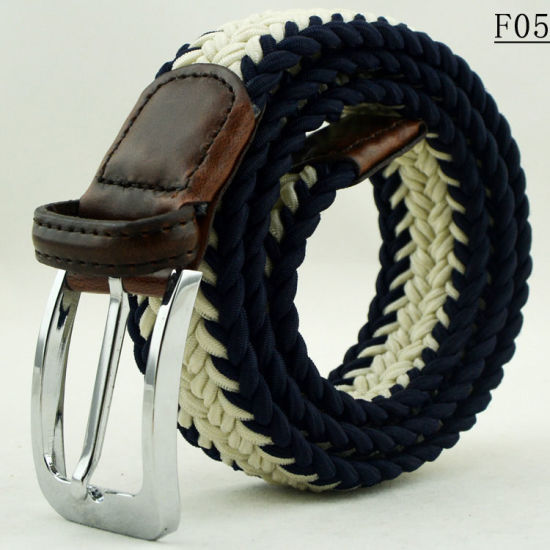 F05 Fashion Garment Accessories Custom Logo Women Braided Belts