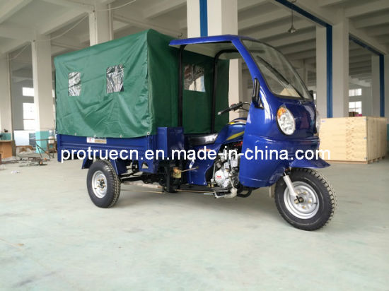 150cc Three Wheel Motorcycle/Cargo Tricycle with Passenger Seat (TR-16) pictures & photos