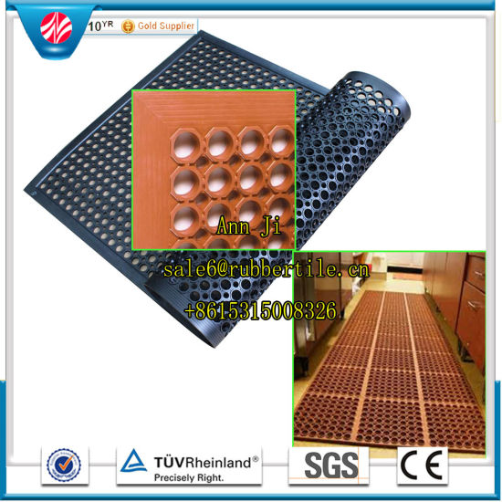 Used Antislip Fire-Resistant Industrial Workshop Floor Matting pictures & photos