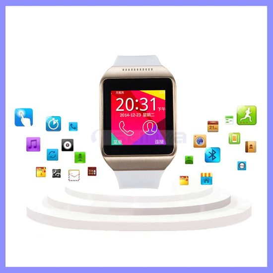 Best Cheap 1.50inch Silicone Touch Screen Bluetooth Watch Mobile Cell Phone Smart Waterproof Android Watch Phone with SIM Card Camera Function
