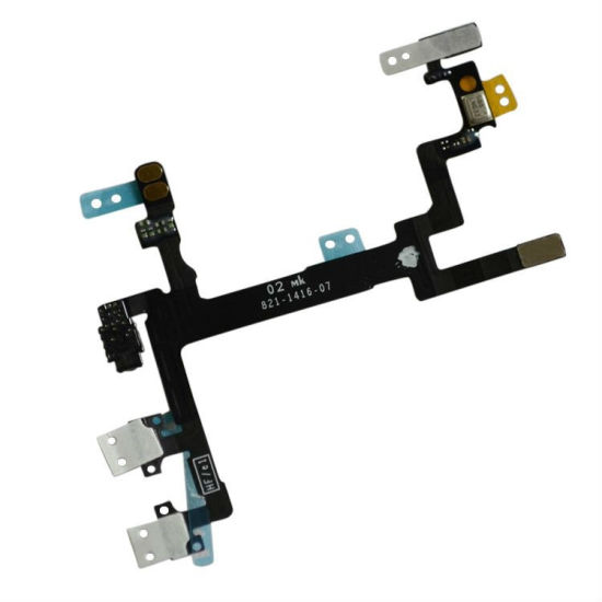 Mobile Cell Phone Switch on off Power Flex Cable for iPhone 5g pictures & photos