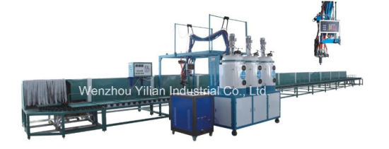 60 Station Conveyor Type Low Pressure PU Pouring Machine
