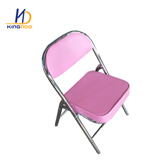 Remarkable China Pu Back And Seat Metal Chromed Leg Folding Chair With Caraccident5 Cool Chair Designs And Ideas Caraccident5Info