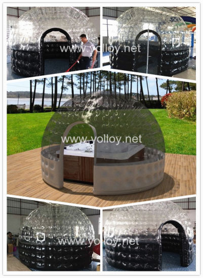 Transparent Clear Inflatable Exhibition Tent pictures & photos