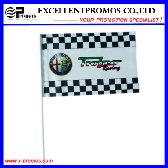 High Quality Polyester Adversiting Cheap Custom Flag (EP-F58401) pictures & photos