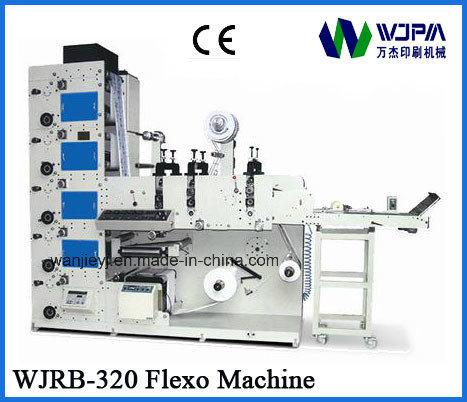 High Speed Label Flexo Printing Machine (WJRB320) pictures & photos