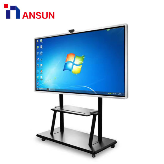 65 Inch Freestanding Digital Multi Touch Interactive Infrared LCD Touch Kiosk