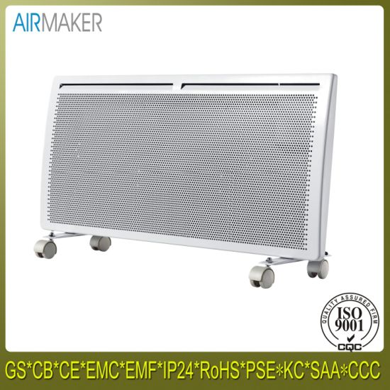 2400W Portable Radiant Metal Convector Heater for Office