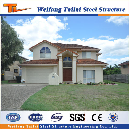 China Design Australia Style Light Steel Strucutre Prefabricated/Prefab House pictures & photos