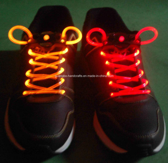 Child Silicone Light up LED Shoelace Stopper pictures & photos