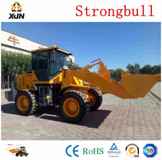 Srtrongbull Heavy Duty Construction Machine 2.5 Tons Zl33 Wheel Loader pictures & photos