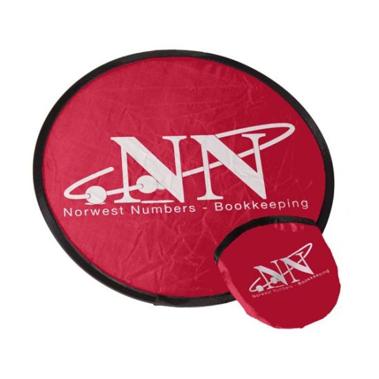 Promotional Foldable Frisbee with Customer Logo, Nylon Frisbee, Fold Frisbee, pictures & photos