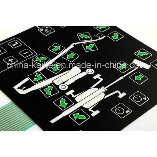 Custom Membrane Foil Switch Keypad with Embedded LEDs