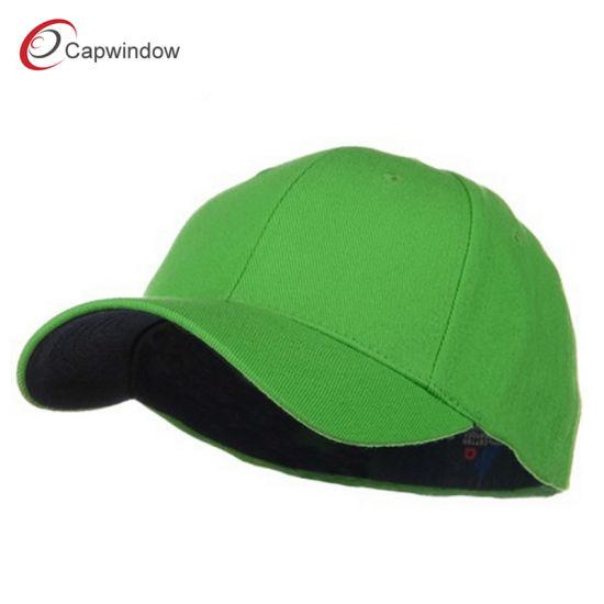cfab918162153 China Lime Low Profile Washed Flex Baseball Cap (02067) - China ...
