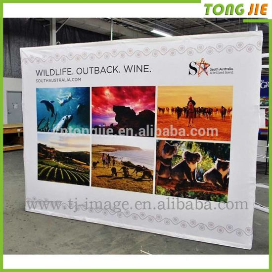 Advertising Exhibition Equipment Display Fabric Pop up Stand pictures & photos
