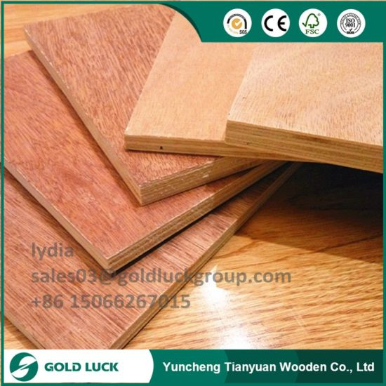High Grade Low Price Chinese Plywood Commercial Plywood pictures & photos