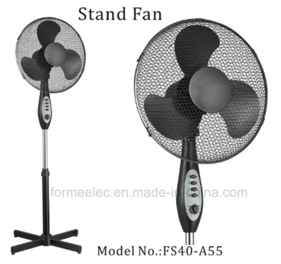 """16"""" Stand Fan with Timer Fs40-A55 Electric Fan"""