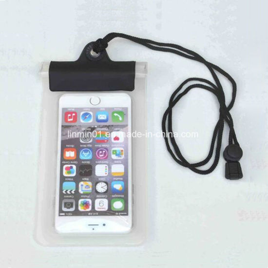 Underwater Universal Waterproof Dry Pouch Mobile Cell Phone Bag pictures & photos