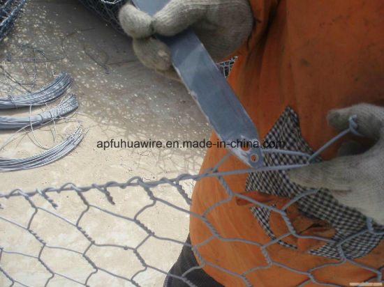 Fine Galvanized Gabion Baskets for River Protection