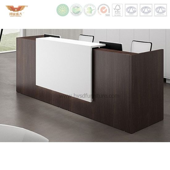 Commercial Used White Reception Desk