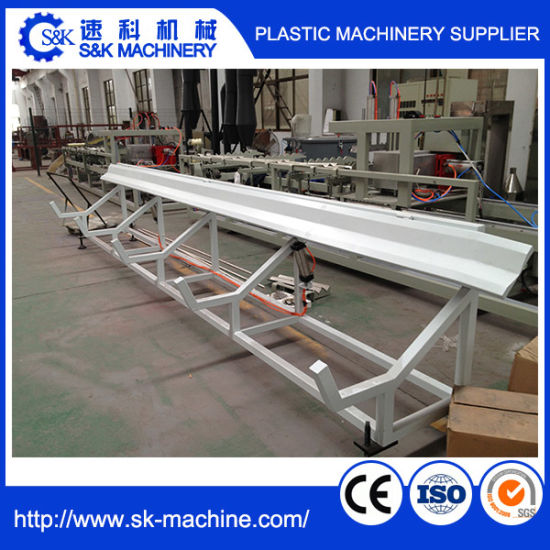 High Quality Plastic PVC Pipe Extrusion Making Machine Price pictures & photos