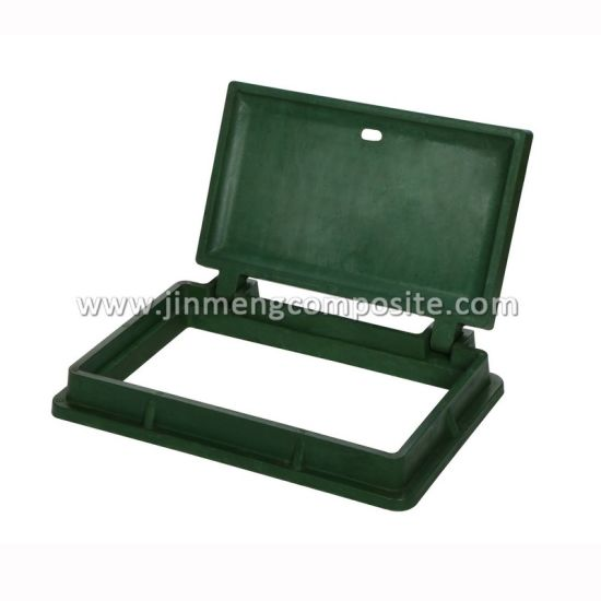 Reinforced Green FRP Square Metal Box for Electricity Industry