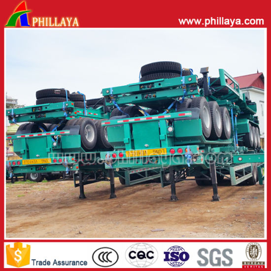 Port Machinery Container Transport Semi Trailer Chassis pictures & photos