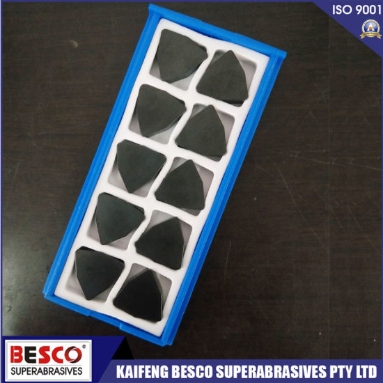 High Quality High Abrasion Resistance Cutting Tool Inserts Diamond PCBN Cutting Tool pictures & photos