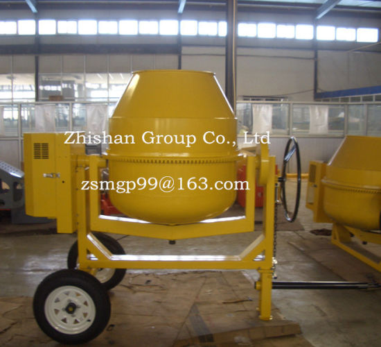 Cm550 (CM50-CM800) Zhishan Portable Electric Gasoline Diesel Cement Mixer pictures & photos