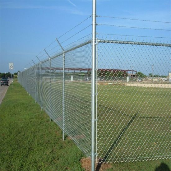 9 Gauge Chain Link Fence for Cages