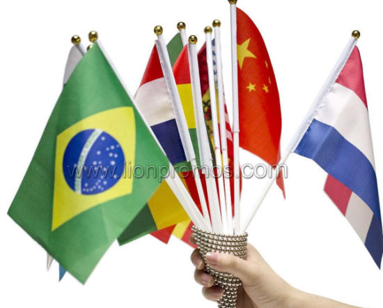 National Day Holiday Football Bravo Hand Weaving Flag pictures & photos
