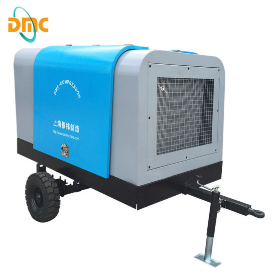 100cfm 3m3/Min Diesel Portable Screw Compressor pictures & photos