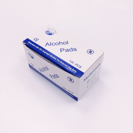 Saturated with 70% Isopropyl Alcohol Prep Pad/Swabs Sterile Pad
