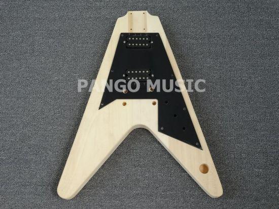 China Pango Music Factory Flying V Diy Electric Guitar Kit