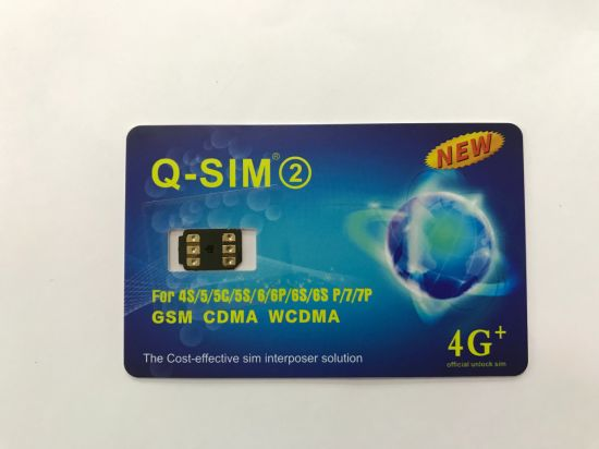 China New Arrival Unlock Card R SIM 12 Turbo for iPhone7