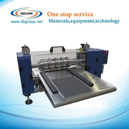 Semi-Automatic Slitting Machine for Li-ion Battery Making Machine pictures & photos