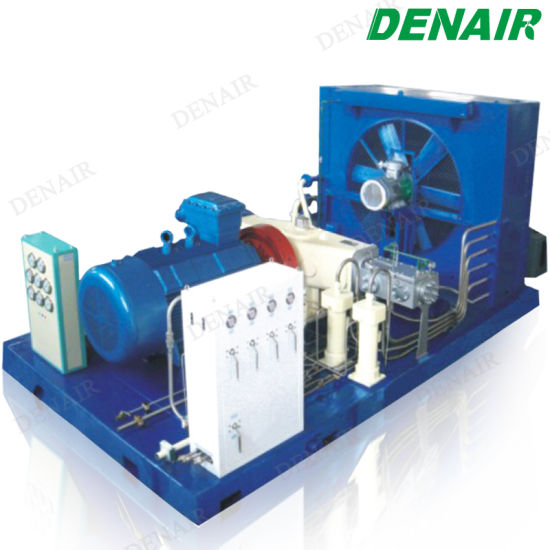 Denair 250 Bar 25MPa CNG Piston Reciprocating Natural Gas Compressor