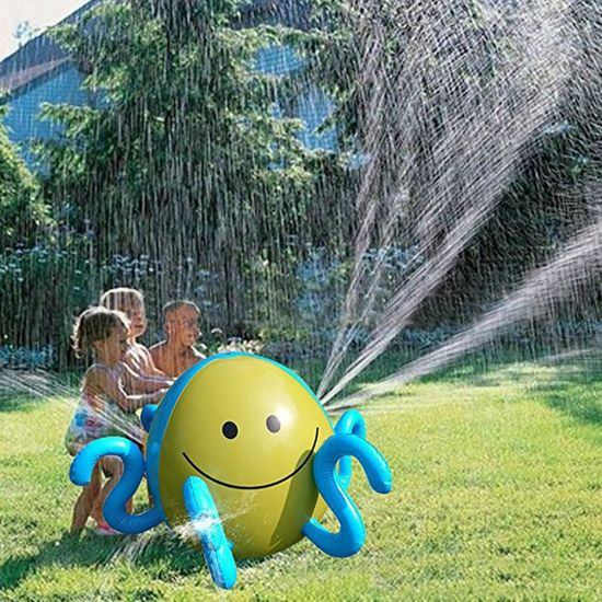 Inflatable Sprinkler Octopus Beach Ball Splash and Spray Toys Ball for Kids Summer Garden, Backyard, Pool, Beach Party Play pictures & photos