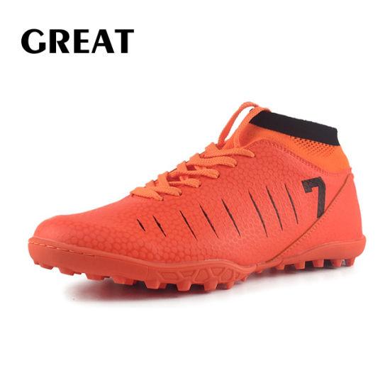 China Greatshoe Hot Sale Men Soccer