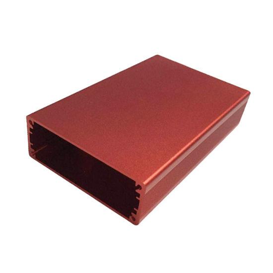 Extruded Waterproof IP67 Electronics Aluminum Heatsink Enclosures