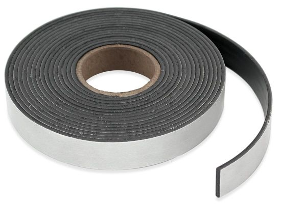 Customized Isotropic Flexible Magnetic Tape Rubber Magnet with Self-Adhesive