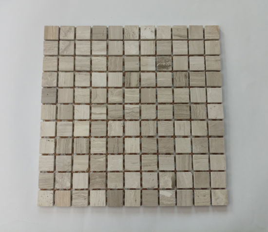 China Square Natural Stone Marble Mosaic For Backsplash Wall Tile China Floor Tiles Kitchen Tiles