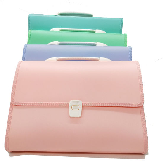 Non-Itchy Silicone Coated Portable Filing Wallet Pouch Expanding File Folder Fireproof and Waterproof Document Bag