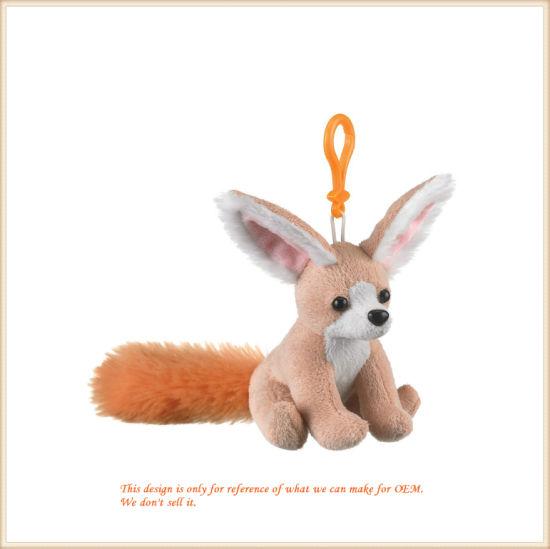 Soft Animal Rings Cute Mini Size Fox Key Finder Kid's Gifts