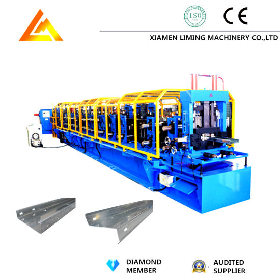 Full Automatic Hydraulic Motor Drive CZ Purlin Roll Forming Machine