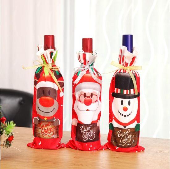 Christmas Printed Wine Decanter Set Christmas Gift