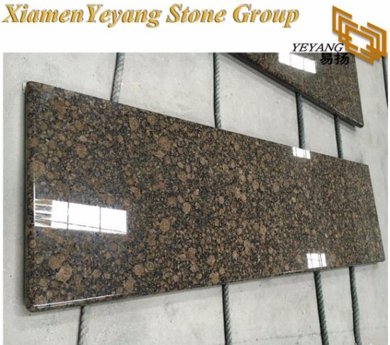 Baltic Brown Granite Countertop Kitchen/Bath Dark Granite  Tiles/Slabs/Vanity-Top