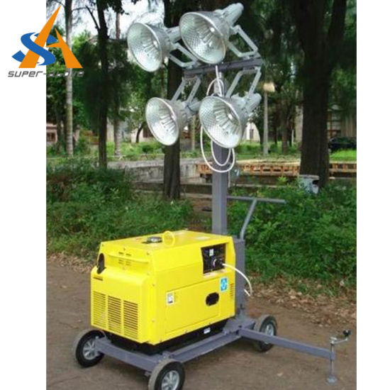 China Vehicle-Mounted Portable Outdoor Light Tower/Mobile