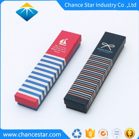 Custom Printed Paper Cardboard Pen Gift Rigid Packaging Box